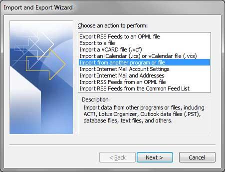 Importer Des Contacts Dans Outlook De Live Mail Fichier CSV